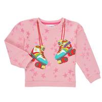 Oblečenie Dievčatá Mikiny Desigual MARGARA Ružová