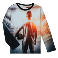 Oblečenie Chlapci Tričká s dlhým rukávom Desigual FOOTBALL Šedá