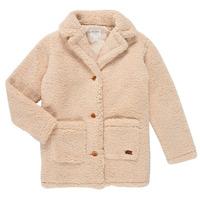 Oblečenie Dievčatá Kabáty Roxy RUNAWAY BABY Biela