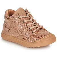 Topánky Dievčatá Polokozačky Bisgaard THOR Ružová / Zlatá