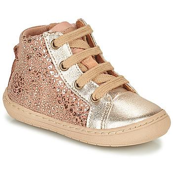 Topánky Dievčatá Polokozačky Bisgaard VILLUM Ružová