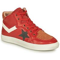 Topánky Chlapci Členkové tenisky Bisgaard ISAK Červená