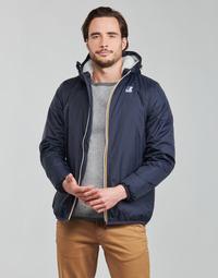 Oblečenie Muži Bundy  K-Way LE VRAI 3.0 CLAUDE ORSETTO Námornícka modrá