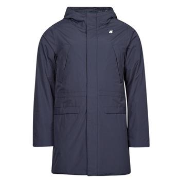 Oblečenie Muži Parky K-Way REMI RIPSTOP MARMOTTA Námornícka modrá