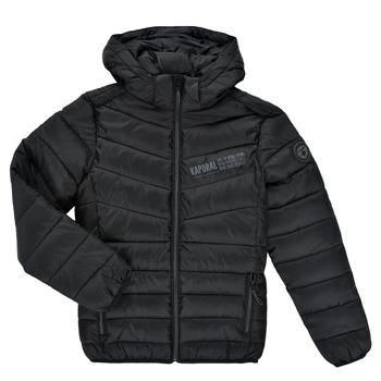Oblečenie Chlapci Vyteplené bundy Kaporal JOLYM Čierna