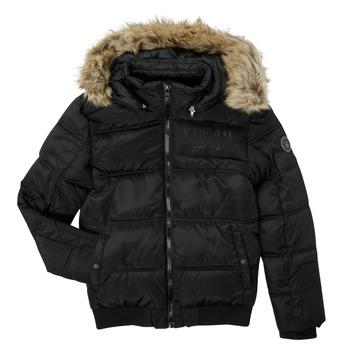 Oblečenie Chlapci Vyteplené bundy Kaporal JOMIR Čierna