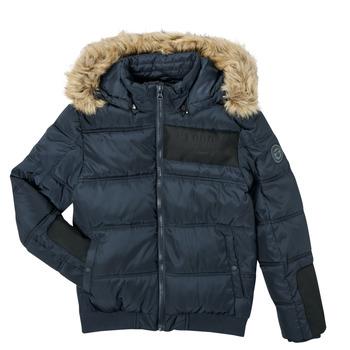 Oblečenie Chlapci Vyteplené bundy Kaporal JOMIR Námornícka modrá