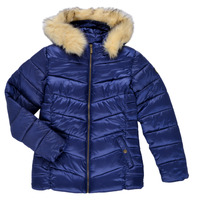 Oblečenie Dievčatá Vyteplené bundy Kaporal BETTI Námornícka modrá