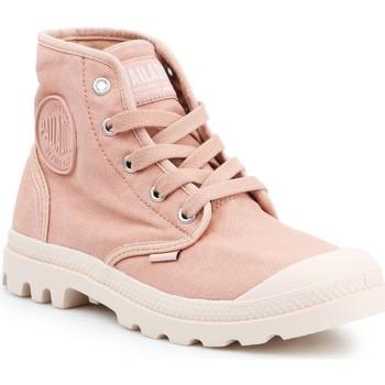 Topánky Ženy Členkové tenisky Palladium Manufacture Pampa HI 92352-663-M pink