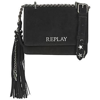 Tašky Ženy Tašky cez rameno Replay FW3001-009 Čierna