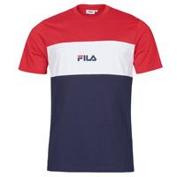 Oblečenie Muži Tričká s krátkym rukávom Fila ANOKI Červená / Námornícka modrá / Biela
