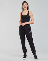 Oblečenie Ženy Tepláky a vrchné oblečenie Puma ESS SWEAT PANT FL CL Čierna