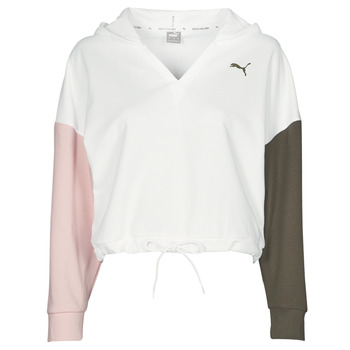 Oblečenie Ženy Mikiny Puma MODERN SPORT HOODIE Biela / Viacfarebná