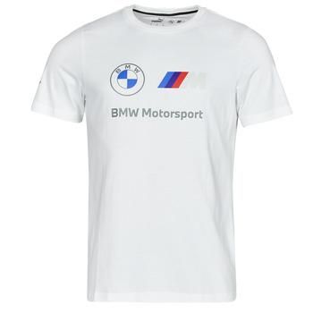 Oblečenie Muži Tričká s krátkym rukávom Puma BMW MMS ESS LOGO TEE Biela