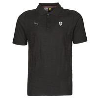 Oblečenie Muži Polokošele s krátkym rukávom Puma FERRARI STYLE JACQUARD POLO Čierna