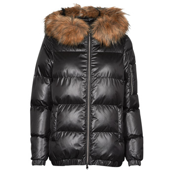 Oblečenie Ženy Vyteplené bundy Geox BAKSIE Čierna