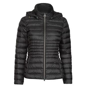 Oblečenie Ženy Vyteplené bundy Geox JAYSEN HOOD Čierna