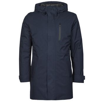 Oblečenie Muži Parky Geox CLINTFORD Námornícka modrá