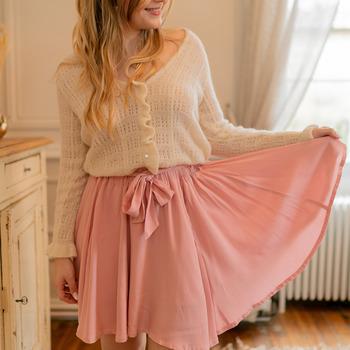 Oblečenie Ženy Sukňa Céleste EGLANTINE Ružová