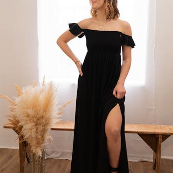 Oblečenie Ženy Dlhé šaty Céleste PATCHOULI Čierna