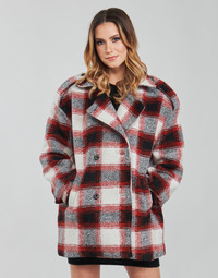 Oblečenie Ženy Kabáty Kaporal FEO Béžová / Červená
