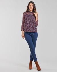 Oblečenie Ženy Nohavice päťvreckové One Step FT22021 Námornícka modrá