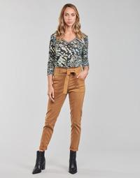 Oblečenie Ženy Nohavice päťvreckové One Step FT22111 Béžová
