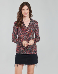 Oblečenie Ženy Blúzky One Step FT10191 Červená / Viacfarebná