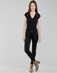 Oblečenie Ženy Nohavice päťvreckové Morgan PETRA Čierna