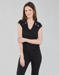 Oblečenie Ženy Blúzky Morgan MDIDO Čierna