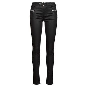 Oblečenie Ženy Nohavice päťvreckové Morgan PBIKER Čierna