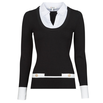 Oblečenie Ženy Svetre Morgan MFLO Čierna / Biela