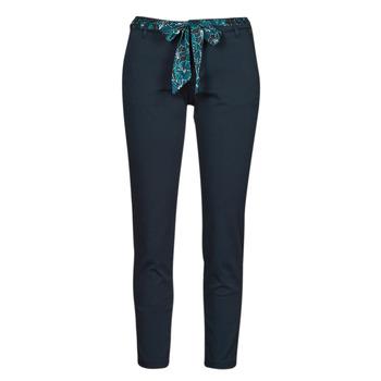 Oblečenie Ženy Nohavice päťvreckové Freeman T.Porter CLAUDIA FELICITA Námornícka modrá