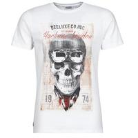 Oblečenie Muži Tričká s krátkym rukávom Deeluxe CLEM Biela