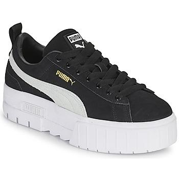 Topánky Ženy Nízke tenisky Puma MAYZE Čierna / Biela
