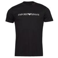 Oblečenie Muži Tričká s krátkym rukávom Emporio Armani 8N1TN5 Námornícka modrá