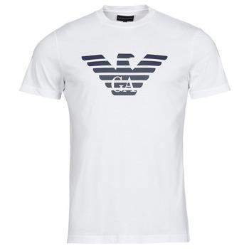 Oblečenie Muži Tričká s krátkym rukávom Emporio Armani 8N1TN5 Biela