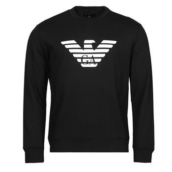 Oblečenie Muži Mikiny Emporio Armani 8N1MR6 Čierna