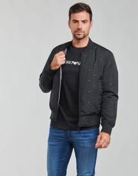 Oblečenie Muži Bundy  Emporio Armani 6K1B96 Čierna