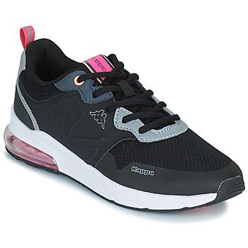 Topánky Dievčatá Nízke tenisky Kappa SPLINTER LACE KID Modrá / Ružová