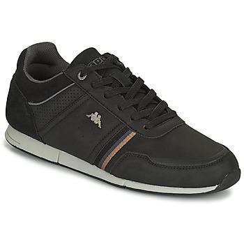 Topánky Muži Nízke tenisky Kappa TYLER Čierna