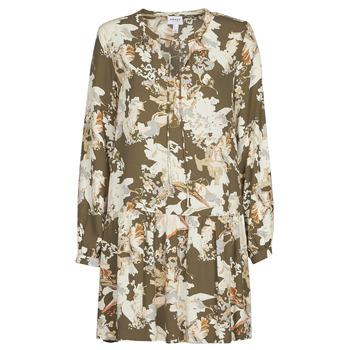 Oblečenie Ženy Krátke šaty Vero Moda VMSAGA Kaki / Biela