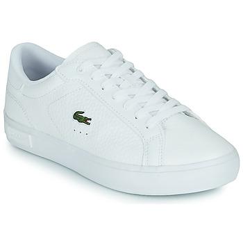 Topánky Ženy Nízke tenisky Lacoste POWERCOURT 0721 2 SFA Biela