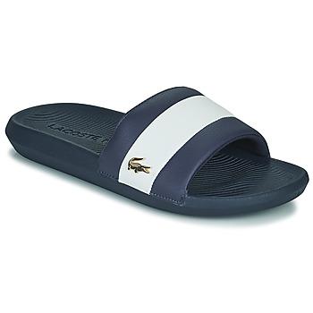 Topánky Muži športové šľapky Lacoste CROCO SLIDE 120 3 US CMA Modrá / Biela