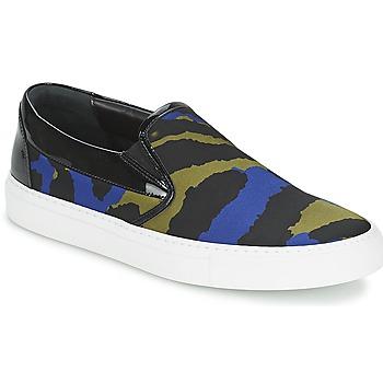 Topánky Ženy Slip-on Sonia Rykiel Sonia By - Sketch201 čierna / Modrá / Kaki