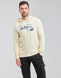 Oblečenie Muži Mikiny Jack & Jones JORLOGON Béžová