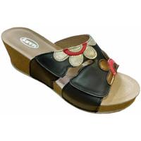 Topánky Ženy Šľapky Calzaturificio Loren LOQ6948ner nero