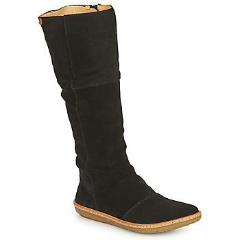 Topánky Ženy Čižmy do mesta El Naturalista CORAL Čierna