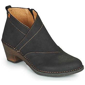 Topánky Ženy Čižmičky El Naturalista SYLVAN Čierna