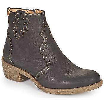 Topánky Ženy Čižmičky El Naturalista QUERA Čierna